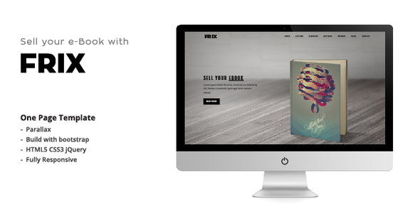 Frix – eBook Parallax