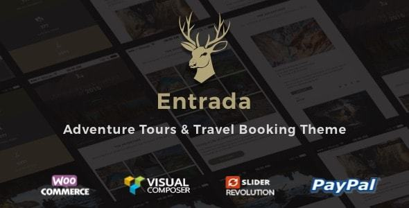 Tour Booking - Adventure Tour WordPress Theme - Entrada - Travel Retail