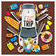 Car Trip - GraphicRiver Item for Sale