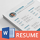 Zero Resume - GraphicRiver Item for Sale