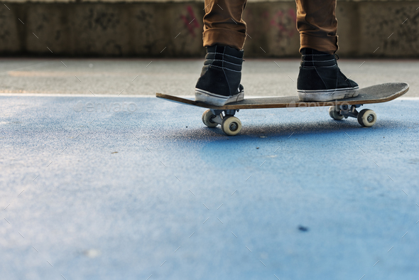 Skateboard Extreme Sport Skater Park Recreational Activity Conce - Stock Photo - Images
