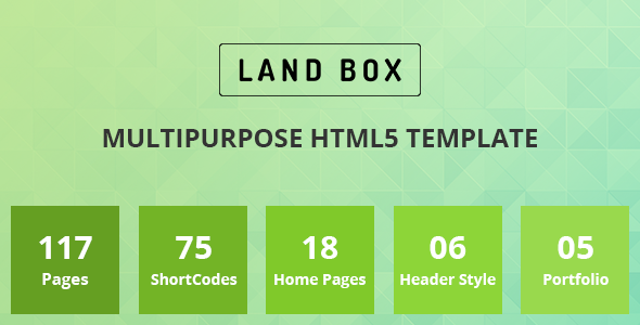 Landbox – Multipurpose HTML5 Template