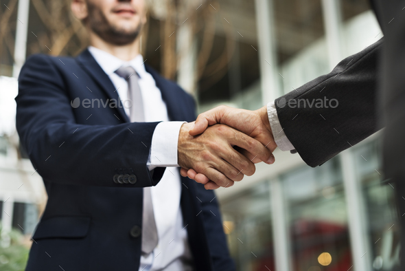 Business Handshake Deal Greeting Concept - Stock Photo - Images