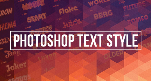 Photoshop Text Style