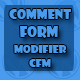 Comment Form Modifier - CFM - CodeCanyon Item for Sale