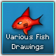 Various fish drawings - GraphicRiver Item for Sale