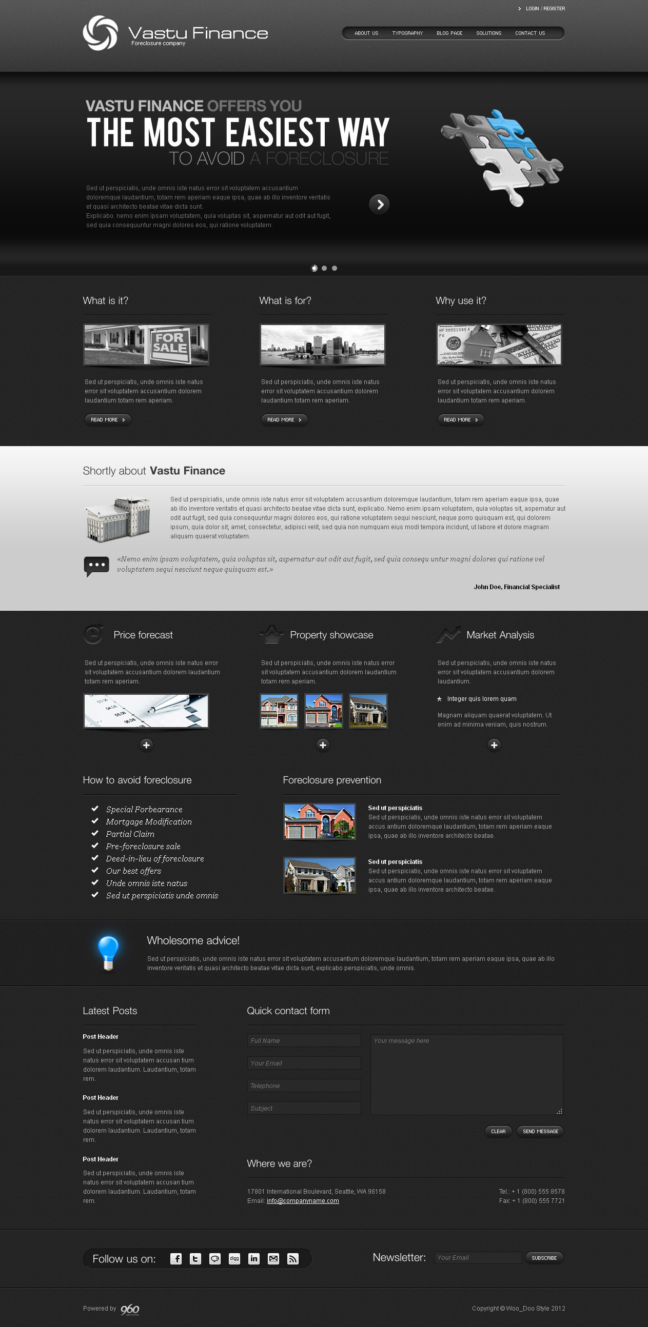 Lovely Mortgage Website Templates Pictures Inspiration - Examples ...