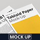 Tabloid Paper Mock-Up - 11x17 - GraphicRiver Item for Sale