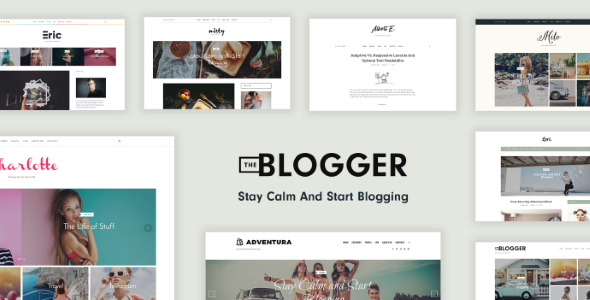 TheBlogger – A WordPress Blogging Theme for Bloggers