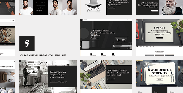 Solace | Highly Flexible Component Based HTML5 Template - Site Templates