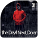 The Devil Next Door - Halloween Party - GraphicRiver Item for Sale
