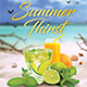 Summer Thirst Flyer - GraphicRiver Item for Sale