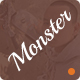Monster - PSD Creative Business - ThemeForest Item for Sale