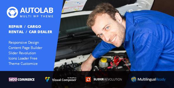 AutoLab – Auto Repair, Car Rental, Cargo & Logistic, Car Dealer Theme