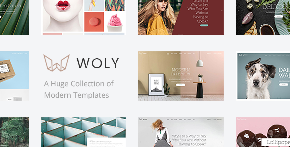 Woly – Multipurpose Theme with A Huge Collection of Modern Layouts for All Your Needs