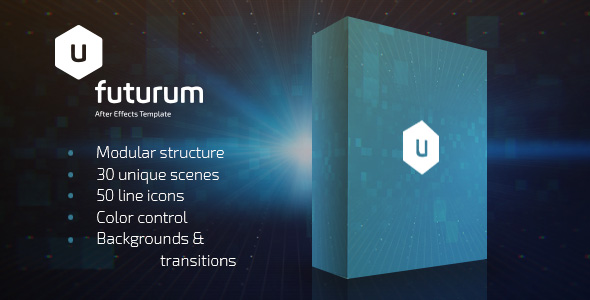 Futurum Presentation Pack by elmake | VideoHive