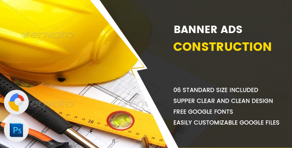 Construction Banners HTML5 - GWD - CodeCanyon Item for Sale