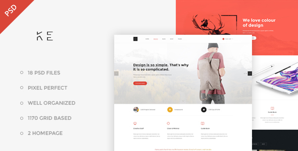 Ketoss – Business Template