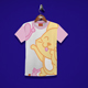 Cat Playing Kids T-Shirt Design - GraphicRiver Item for Sale