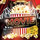 Movie Night Flyer-Graphicriver中文最全的素材分享平台