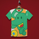 Elephant playing Kids T-Shirt - GraphicRiver Item for Sale