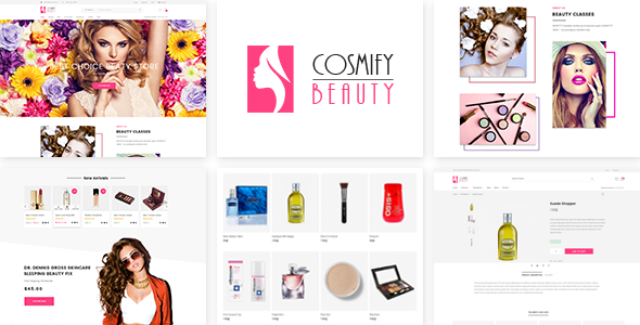 Cosmify - Fashion Cosmetic Shopify Theme