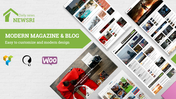 Newsri - WordPress Magazine Theme - Blog / Magazine WordPress