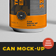Can Mock-Up - 330ml - GraphicRiver Item for Sale
