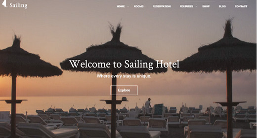 Best WordPress Hotel Theme