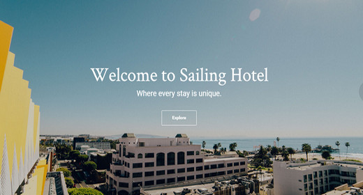 WordPress Theme Hotel
