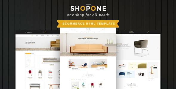 ShopONE - Furniture  HTML Store  - Shopping Retail