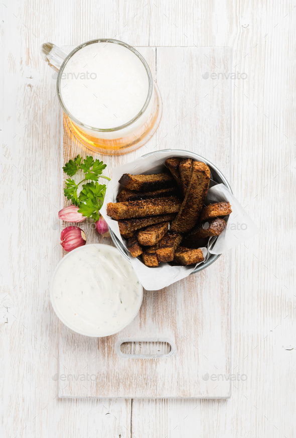 Beer snack set - Stock Photo - Images