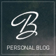Blogius | Powerful Responsive Personal Blog Theme - ThemeForest Item for Sale