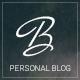 Blogius | Powerful Responsive Personal Blog Theme