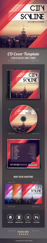 City Skyline CD Cover Artwork