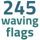 245 Waving  Flags - VideoHive Item for Sale
