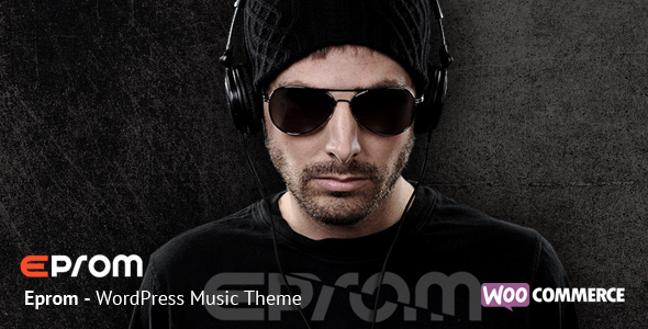 Eprom – WordPress Music Band & Musician Theme