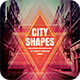 City Shapes CD Cover Artwork - GraphicRiver Item for Sale