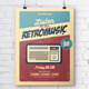 Listen to the RetroMusic Flyer/Poster - GraphicRiver Item for Sale
