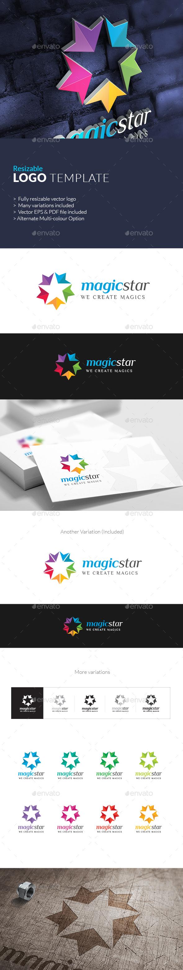 MagicStar Creative Brand Logo - Symbols Logo Templates