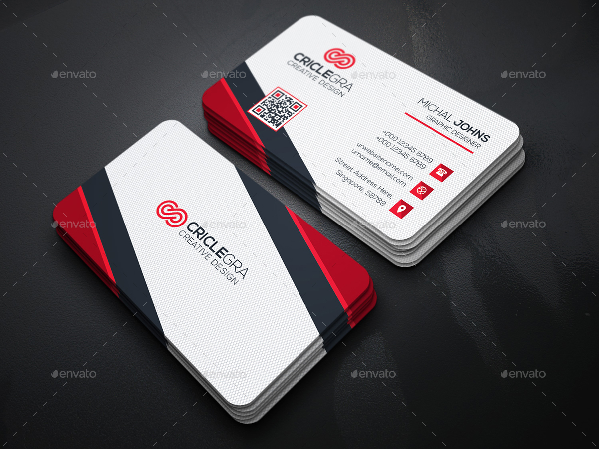 Business card bundle 5 in 1 by generousart graphicriver preview image set01technology business cardg magicingreecefo Gallery