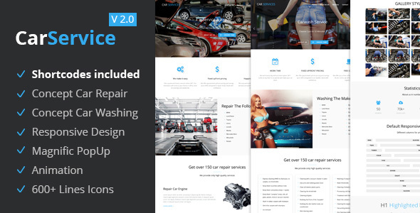 Car Services – Conversion Landing Page