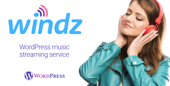 Windz - Music streaming service WordPress plugin - CodeCanyon Item for Sale