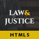 Law&Justice: Attorney Lawyer HTML5 Template - ThemeForest Item for Sale