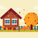 Autumn Landscape - GraphicRiver Item for Sale
