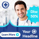 Doctor Medical Banner - GraphicRiver Item for Sale