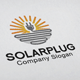 Solar Plug Logo - GraphicRiver Item for Sale