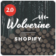 Wolverine - Responsive Multipurpose Shopify Theme - ThemeForest Item for Sale