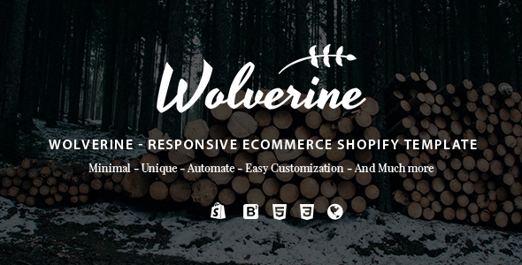 Image of Wolverine - Responsive Multipurpose Shopify Theme