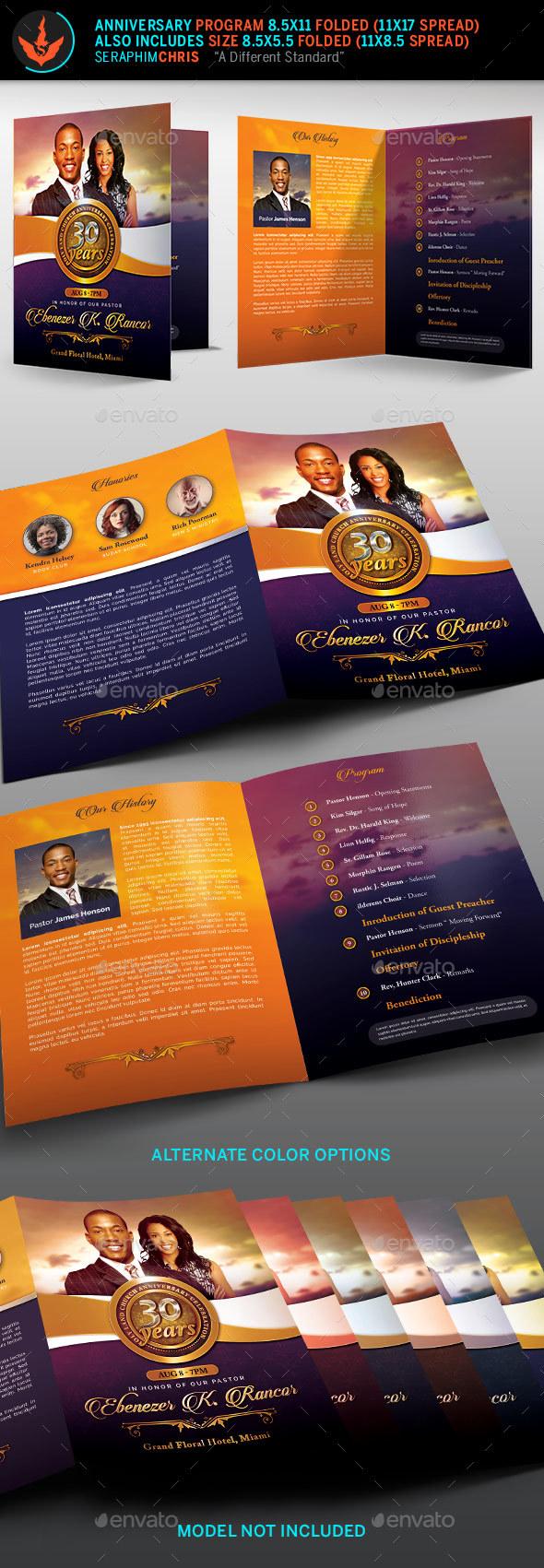 souvenir booklet template download